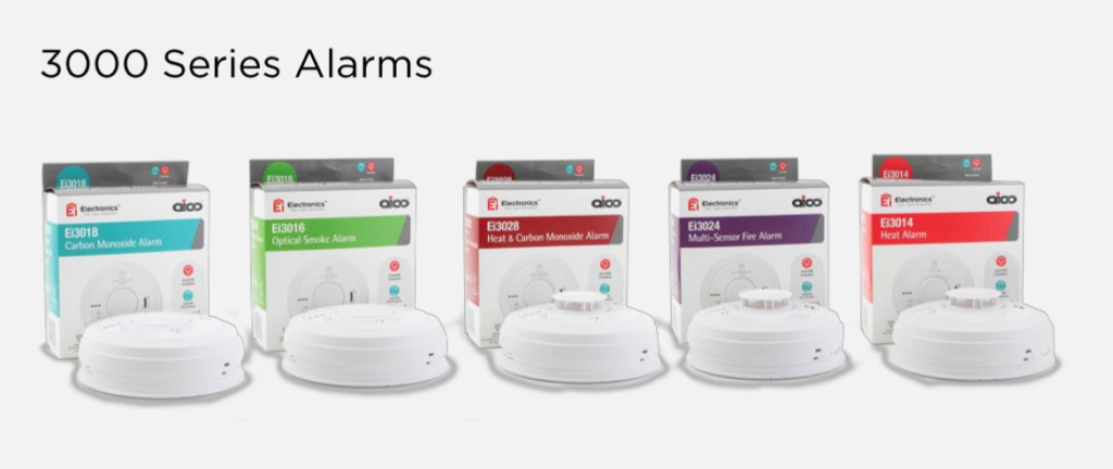 Aico 3000 series alarms with AudioLINK